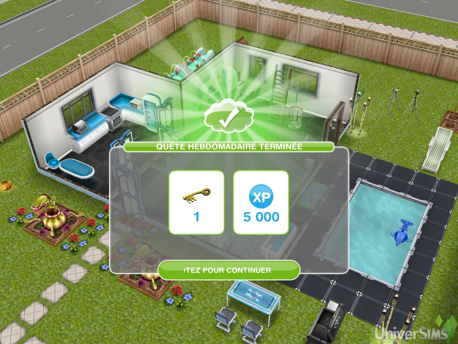 les-sims-gratuit-freeplay-quete-hebdomadaire-terminee-100%