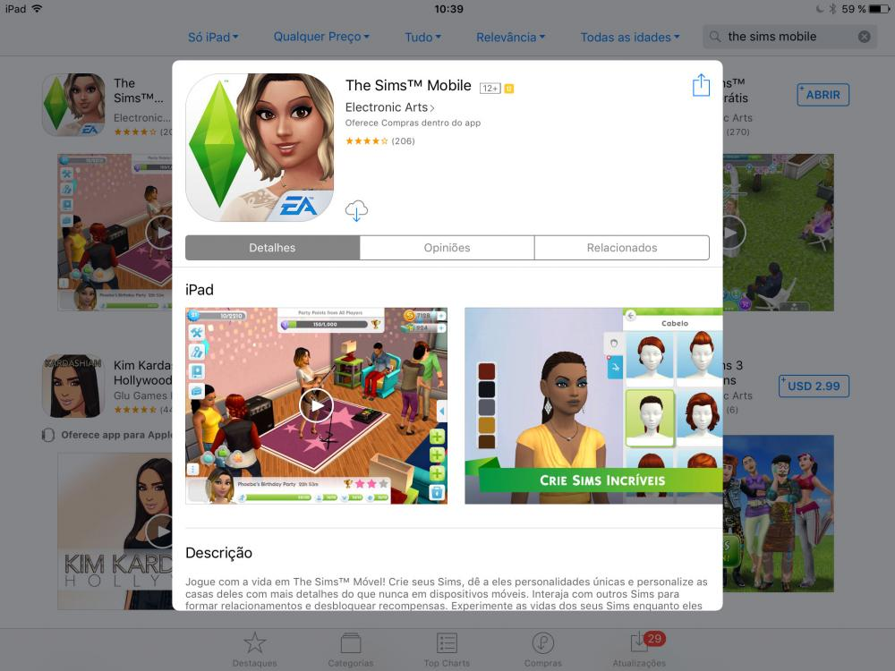 Sims Mobile APK iOS iPad iPhone