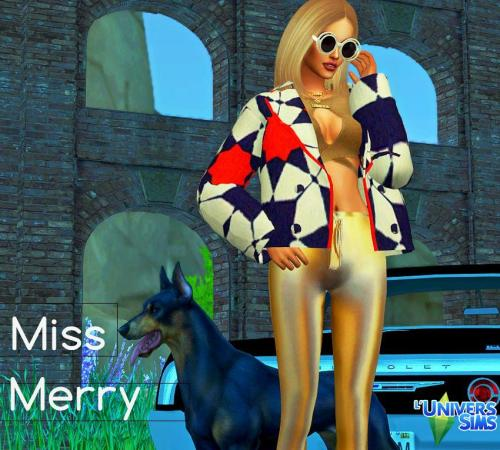 Capture d'écran pour Winter coat for sims 4
