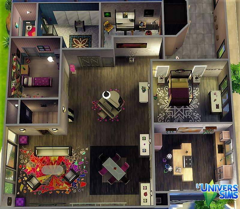 renovation appartement sims 4