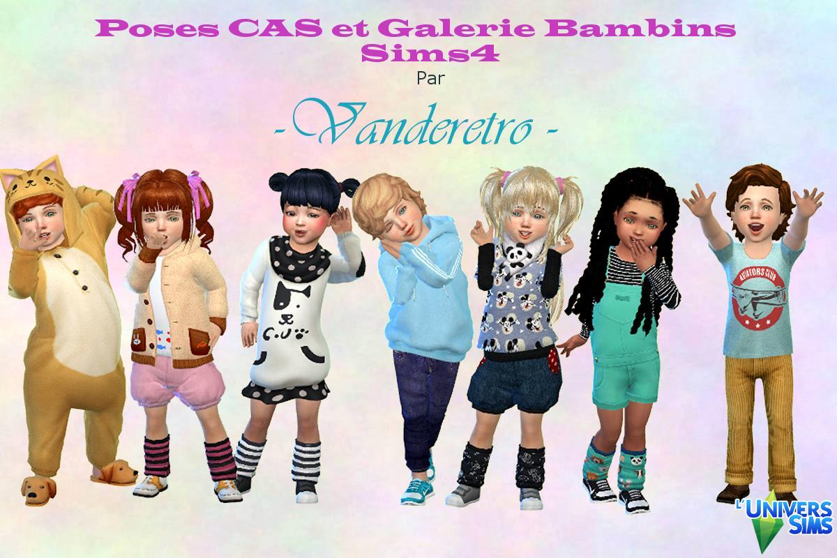 Face Poses toddler CAS and GALLERY