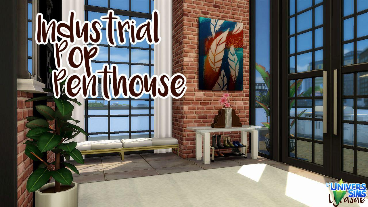 Industrial Pop Penthouse
