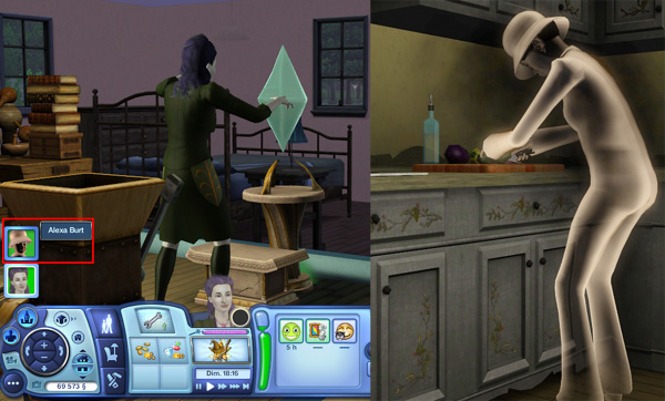 photo sims 3 comment voir un fantome