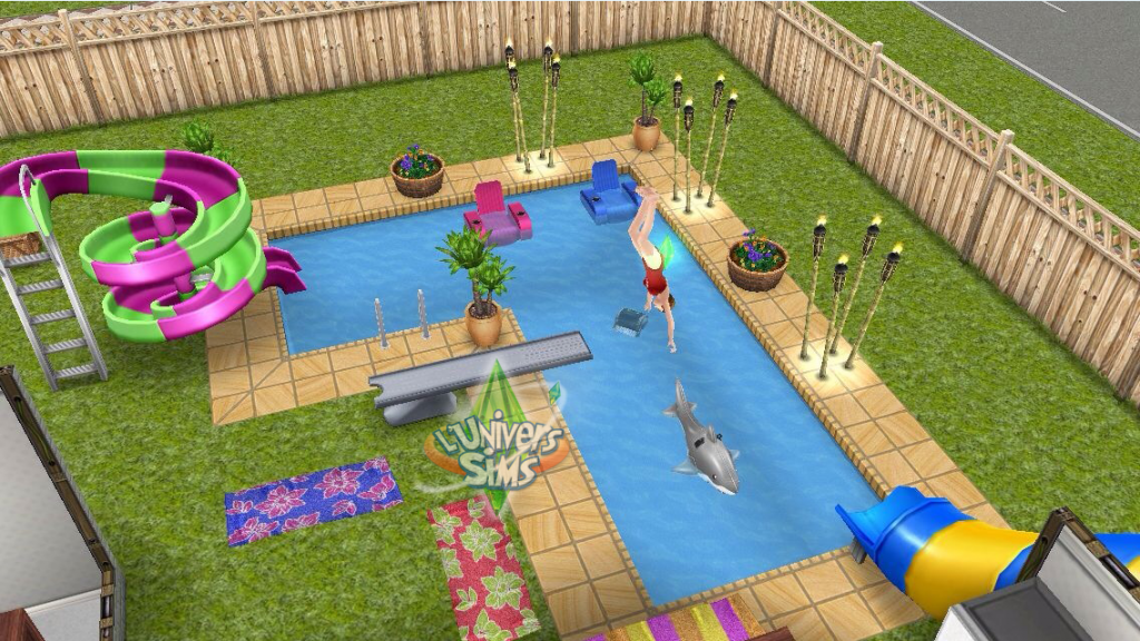 News les sims gratuit freeplay construire la piscine for Construire sa piscine