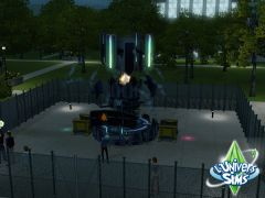 Sims 3 University Competence Science projet scientifique De groupe casse