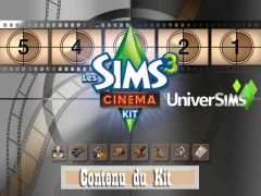 Kit Sims3 Cinema