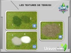 Sims 3 En route vers Le futur Mode construction 12 textures