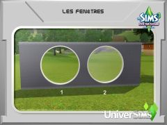 Sims 3 En route vers Le futur Mode construction 6 fenetre