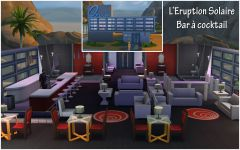 Les Sims 4 Oasis Springs baracoktail