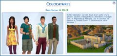 Les Sims 4 Oasis Springs coloc01