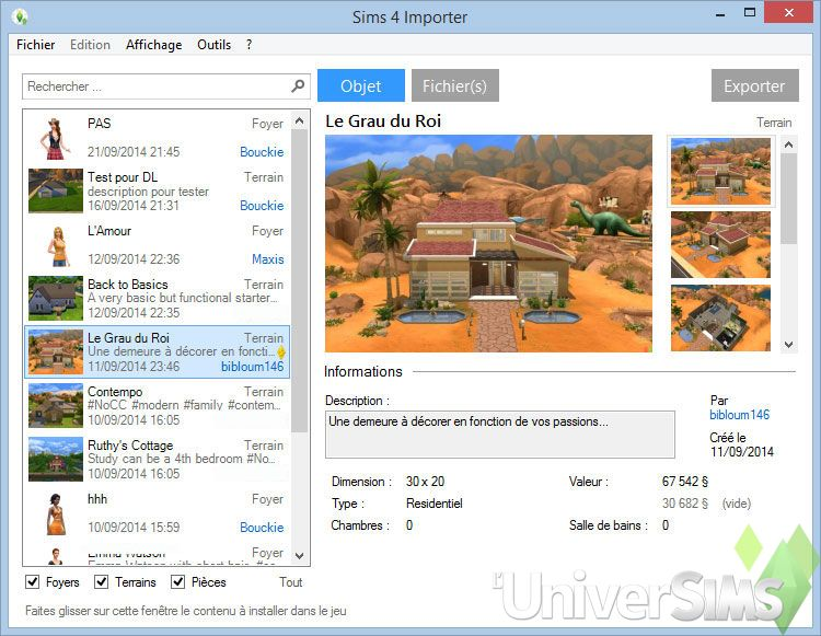 Sims 4 Importer LuniverSims  4