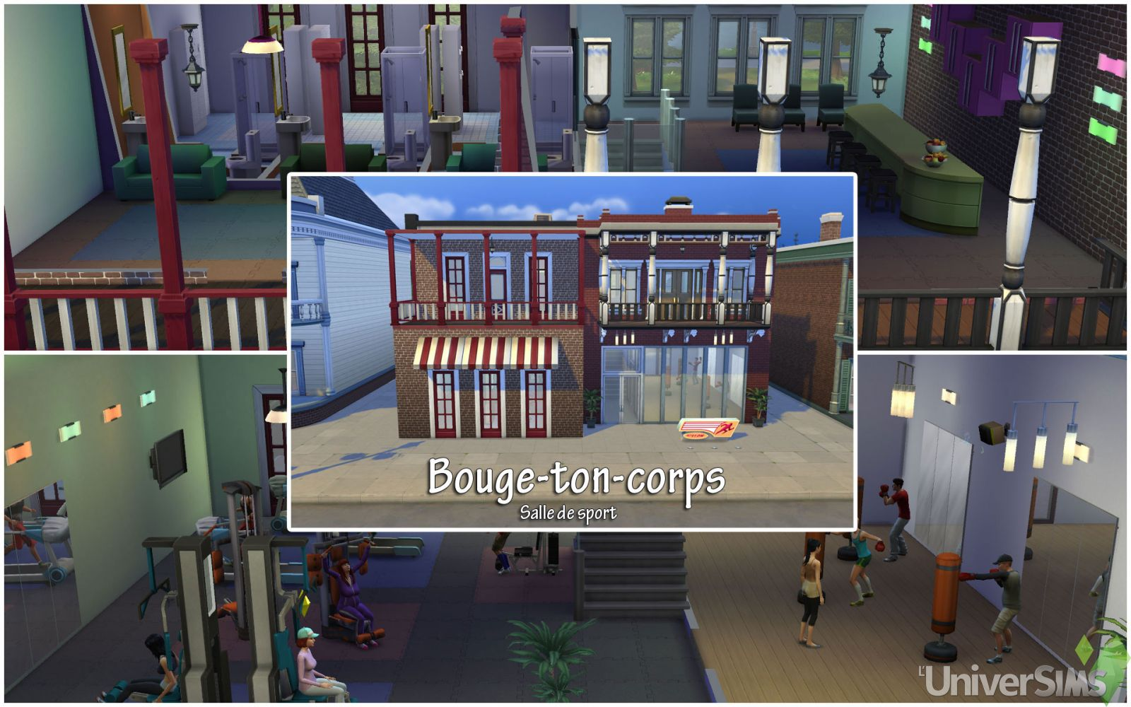 Les Sims 4 Willow Creek bouge Ton corps