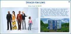 Les Sims 4 Willow Creek lewis