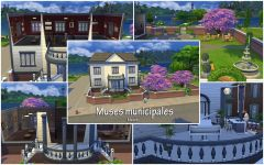 Les Sims 4 Willow Creek muses municipales