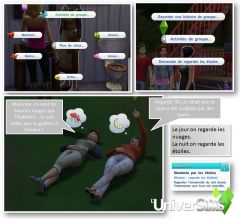 Sims4 Destination Nature Granit Falls interactions groupe