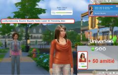Les Sims 4 cheat codes relation amitie