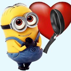 Minion in love by Elisa