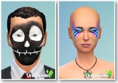 Sims 4 Kit effrayant CAS maquillage adultes