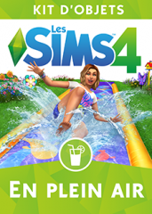 Les Sims 4 - En Plein Air - Kit d'objets 8 : Logos, Renders, Artwork