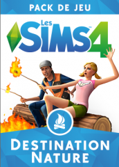 Les Sims 4 - Destination Nature - Pack de jeu 1 : Logos, Renders, Artwork