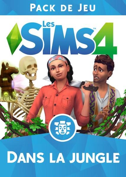 Les Sims 4 - Dans La Jungle - Pack de jeu 6 : Logos, Renders, Artwork