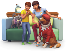 Les Sims 4 - Premier Animal de Compagnie - Kit d'objets 14 : Logos, Renders, Artwork