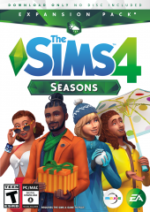 Les Sims 4 - Saisons - Pack d'extension 05 - Logos, Renders, Artwork