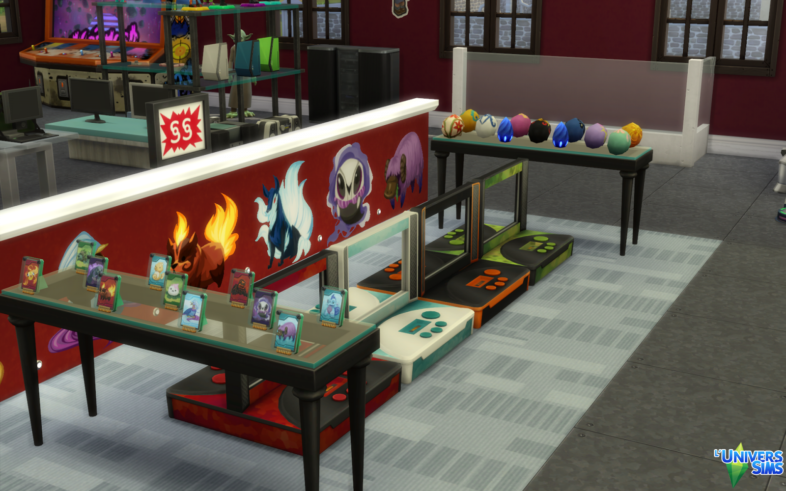 Le magasin GeekSims