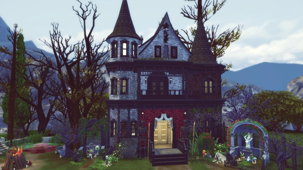 ELECTRA 🧛♀️ | Speed Build FR | Les Sims 4