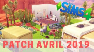 Les Sims 4  PATCH AVRIL 2019 !