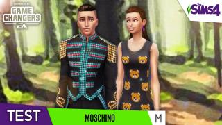 MOSCHINO 📸 CAS, OBJETS & GAMEPLAY || LES SIMS 4