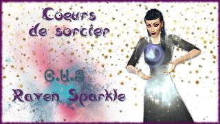 [ LET'S PLAY ] C.U.S Raven Sparkle 🧙‍♀️
