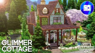 GLIMMER COTTAGE 🔮 || LES SIMS 4 || SPEED BUILD (SANS CC)
