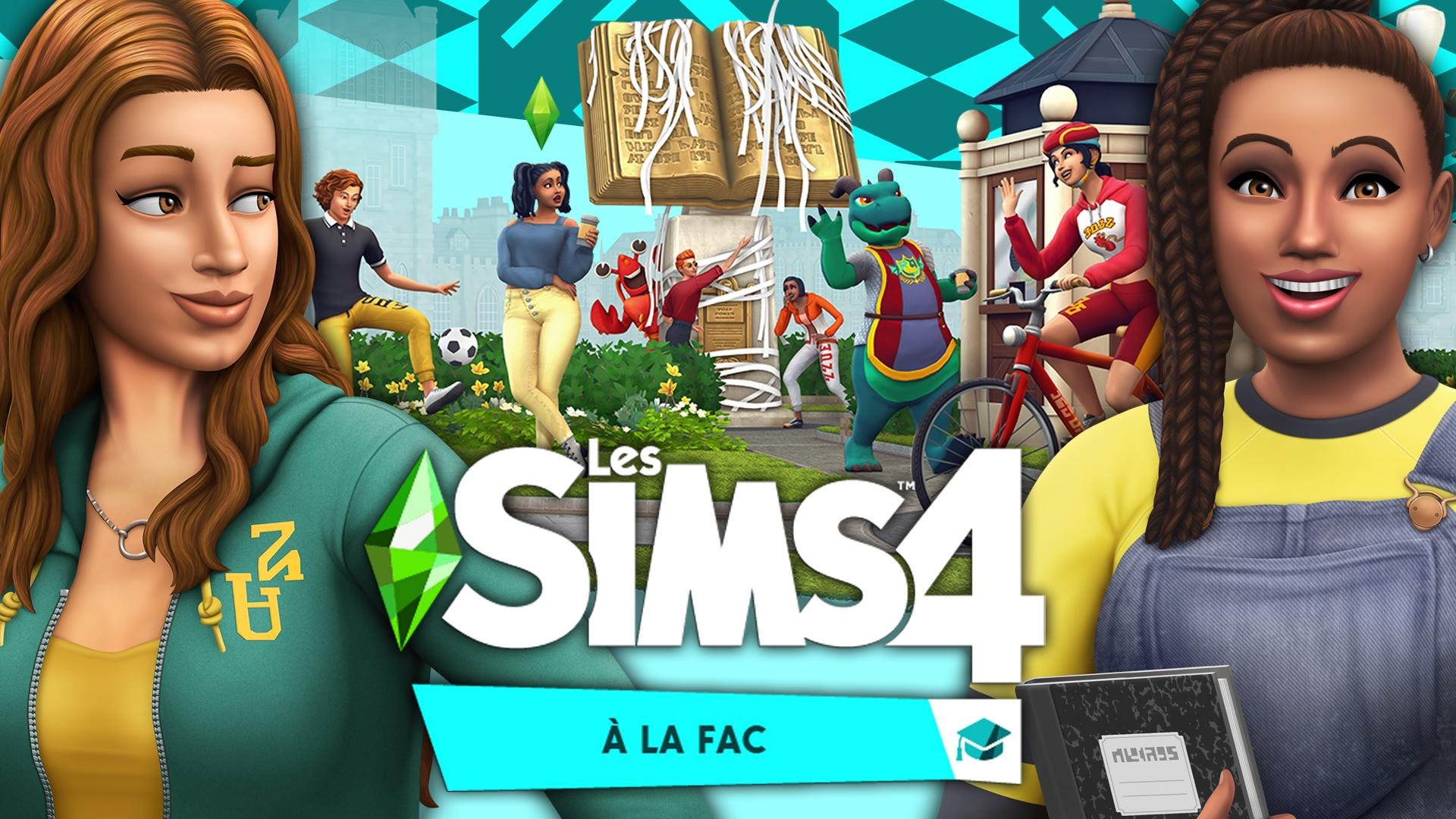 PACK D'EXTENSION : A LA FAC 🎓 ANALYSE TRAILER || LES SIMS 4