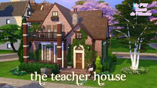 [ SPEED BUILD ] The Teacher house