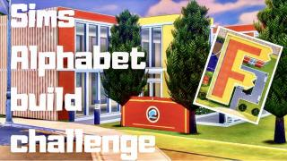 🎓 F comme FoxBury  🦞- SIMS ALPHABET BUILD CHALLENGE