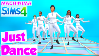 Just dance 🎬🎵 Machinima Sims 4 🍌 Banana Sims