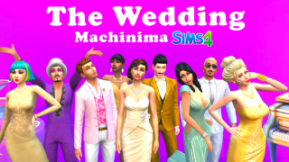 The Wedding 🎬 Machinima Sims 4 🍌 Banana Sims
