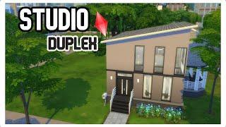 Speed build Sims 4~Base game~Duplex