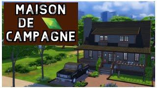 Sims4~Base Game~Speed Build~Maison de campagne (maison de la famille Smith)