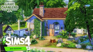 MICRO CUTIE || LES SIMS 4 MINI-MAISONS : SPEED BUILD