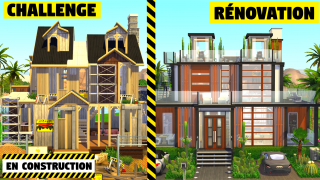 Challenge rénovation 🚧 Sims 4 🍌 Banana Sims