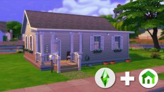 Simple Small House 🏠 | Speed Build Jeu de base + Mini-maisons | Les Sims 4