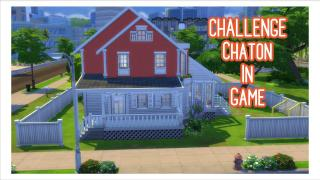 Sims4-Speed build-Challenge  ChatonInGame