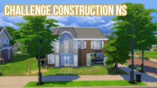 Sims4-Speed build challenge NS maison