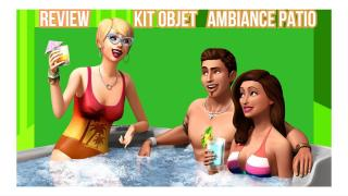 Sims 4 Review // kit d'objet ambiance patio //FR