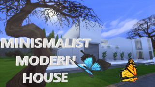 THE SIMS 4 | MINISMALIST MODERN HOUSE | CC INCLUDED | INSPIRATION