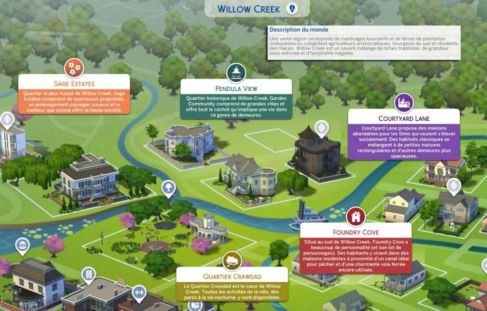 Les Sims 4 Ecologie Decouverte Du Monde Evergreen Harbor Les