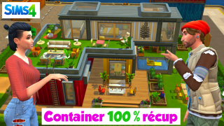 Container 100% récup ♻️ Sims 4 🍌 Banana Sims