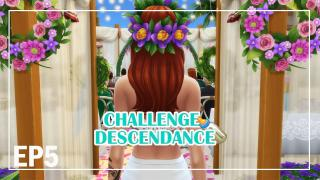 SARA & JONAS! EP5 | CHALLENGE DESCENDANCE | Les Sims 4 | Let's play